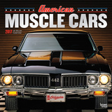 American Muscle Cars 18-Month - 2017 Calendar Calendars