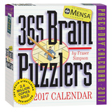 Mensa 365 Brain Puzzlers Page-A-Day - 2017 Boxed Calendar Calendars