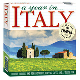 A Year In Italy Color Page-A-Day - 2017 Boxed Calendar Calendars