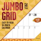 Jumbo Grid - 2017 Calendar Calendriers