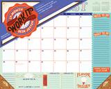 Work It! 17-Month Jotter - 2017 Desk Blotter Calendars
