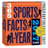 The Official 365 Sports Facts-A-Year Page-A-Day - 2017 Boxed Calendar Kalendarze