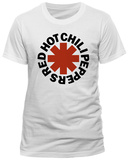 Red Hot Chili Peppers - Red Asterisk Logo (Slim Fit) T-Shirts