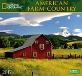 National Geographic American Farm Country - 2017 Calendar Calendars
