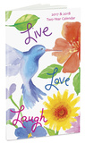 Live Love Laugh - 2017 Planner カレンダー