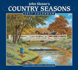 John Sloane's Country Seasons Deluxe - 2017 Calendar カレンダー