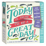 Today Is Going To Be A Great Day! Color Page-A-Day - 2017 Boxed Calendar Calendarios