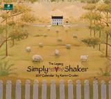 Simply Shaker - 2017 Calendar Calendriers