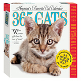 365 Cats Color Page-A-Day - 2017 Boxed Calendar Kalendere