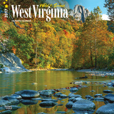 West Virginia, Wild & Scenic - 2017 Calendar Calendriers