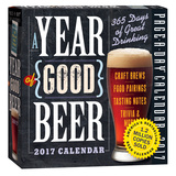 A Year Of Good Beer Page-A-Day - 2017 Boxed Calendar Calendriers