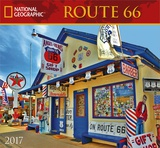 National Geographic Route 66 - 2017 Calendar Kalendere