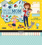 Mom's Do It All - 2017 Magnetic 17 Month Calendar カレンダー