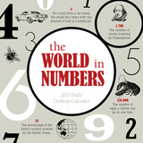 The World in Numbers - 2017 Boxed Calendar Calendars