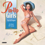 Pin-Up Girls - 2017 Calendar Kalendrar