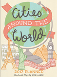Cities Around the World - 2017 Planner Kalenders