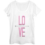 Womens: Love That Way Scoop Neck Vêtement