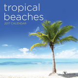 Tropical Beaches - 2017 Mini Calendar カレンダー