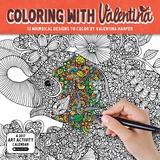 Coloring with Valentina - 2017 Calendar Kalendarze