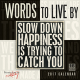 Words to Live By — Primitives by Kathy - 2017 Calendar Calendars