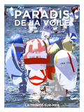 La Trinité sur Mer, Paradis de la voile Kunstdrucke von Philip Plisson