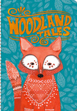 Woodland Tales On-Time 17-Month - 2017 Weekly Planner Calendars