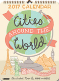 Cities Around the World - 2017 Poster Calendar Calendars