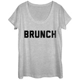 Womens: Brunch Scoop Neck T-Shirts