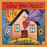 Follow Your Heart - 2017 Calendar Calendars