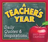 A Teacher's Year - 2017 Boxed Calendar Calendriers