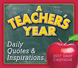 A Teacher's Year - 2017 Boxed Calendar Calendarios