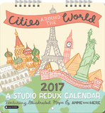 Cities Around the World - 2017 Mini Calendar Calendriers