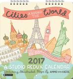 Cities Around the World - 2017 Mini Calendar - Takvimler