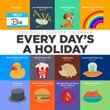 Every Day's A Holiday - 2017 Calendar Calendars
