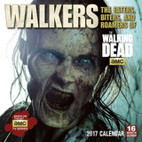 Walkers — The Eaters, Biters, and Roamers of AMC's The Walking Dead - 2017 Calendar Calendars