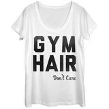 Womens: Gym Hair Scoop Neck Vêtements