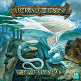 Dragons by Ciruelo - 2017 Calendar Kalendere