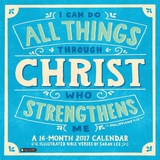 I Can Do All Things Through Christ - 2017 Calendar Kalendarze