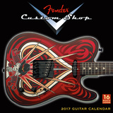 Fender Custom Shop - 2017 Calendar Calendars