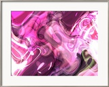 Abstract 14 Framed Giclee Print by Shiroki Kimaneka