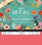 Secret Garden - 2017 Magnetic 17 Month Calendar Kalendere