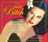 The Daily Bitch - 2017 Boxed Calendar Kalendáře