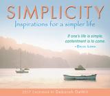 Simplicity - 2017 Boxed Calendar Kalendarze