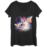 Womans: Uni Kitten Hero Squad Scoop Neck T-Shirt
