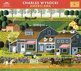 Charles Wysocki - Americana - 2017 Calendar Calendriers