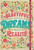 Beautiful Things Happen 17-Month - 2017 Hardcover Planner Calendars
