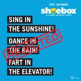 Hallmark Shoebox - 2017 Calendar Calendars