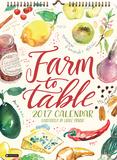 Farm to Table - 2017 Poster Calendar - Takvimler
