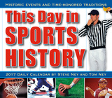 This Day in Sports History - 2017 Boxed Calendar Calendari