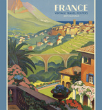 France: Vintage Travel Posters - 2017 Calendar Calendriers